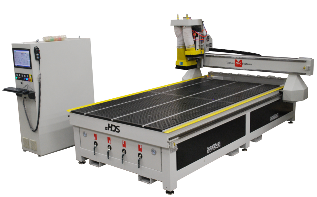 hds series cnc router for wood, plastic, and more