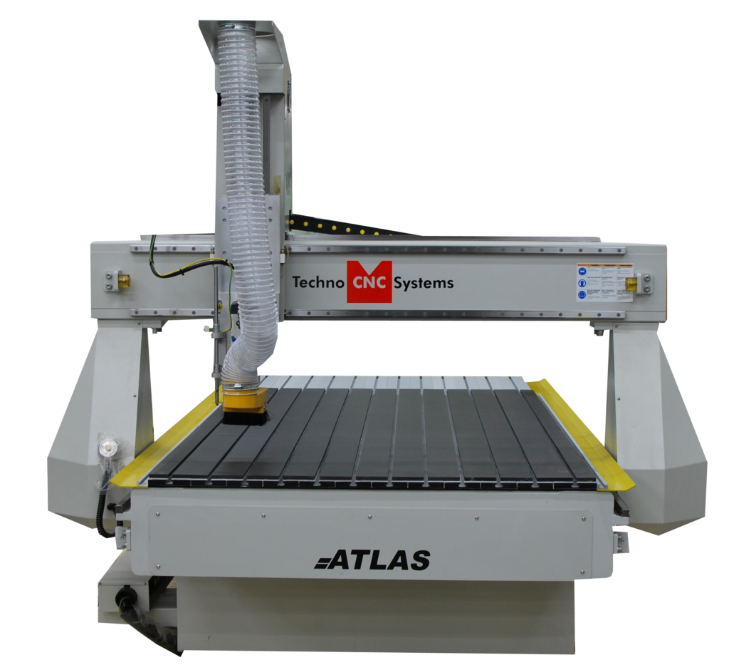 Front view of Atlas Techno CNC Systems.