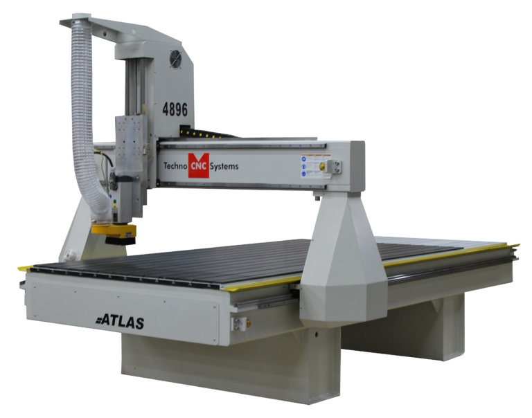 Side view of 4896 Atlas Techno CNC Systems.