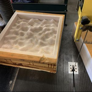 USC - texas_stranger simple surfaces milled as molds using materias like plastic , 3 axis project for students