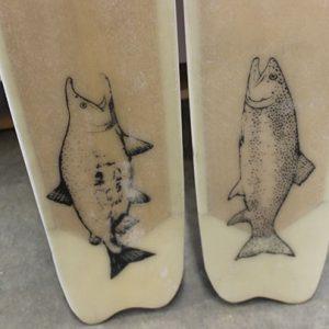 fish-etching