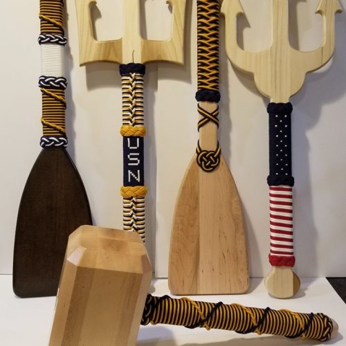old goat custom woods - Techno CNC routers - military tridents paddles and thor hammer